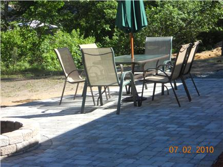 West Yarmouth Cape Cod vacation rental - Large Patio for Relaxing and Entertaining