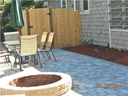 West Yarmouth Cape Cod vacation rental - Five Foot Diameter Firepit and Large Outdoor Shower