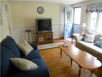West Yarmouth Cape Cod vacation rental - Livingroom has 36'' TV, DVD, VHS and Stereo