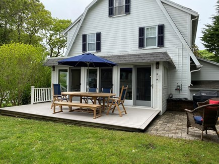 Harwichport Cape Cod vacation rental - Deck and grill