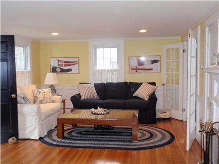 Harwichport Cape Cod vacation rental - Sunny, large living room