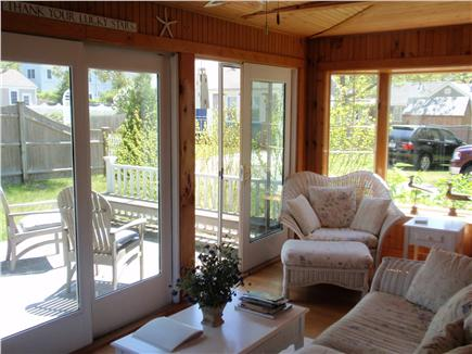 Harwichport Cape Cod vacation rental - Sunporch