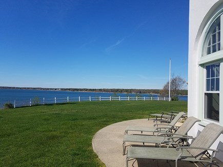 Orleans Cape Cod vacation rental - Relax on the patio overlooking Pleasant Bay