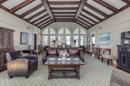Orleans Cape Cod vacation rental - The living room is large enough for all to gather