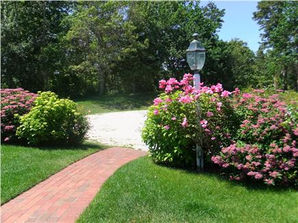Orleans Cape Cod vacation rental - Sea shell drives leads to the front walk, lovely gardens