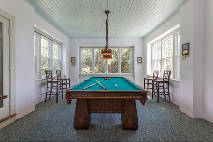Orleans Cape Cod vacation rental - Game room for pool table and darts