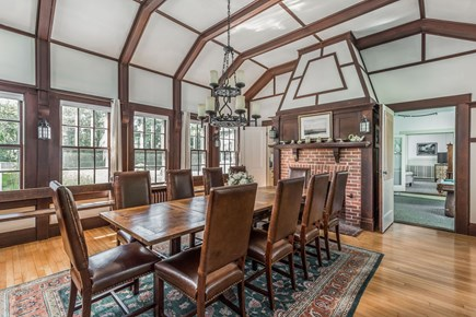 Orleans Cape Cod vacation rental - Wonderful dining room seats at least 10