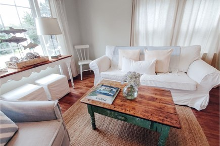Barnstable Cape Cod vacation rental - Light filled living room