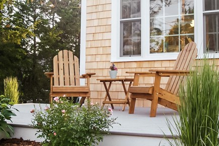 Barnstable Cape Cod vacation rental - Relax on the front porch just steps to the marsh