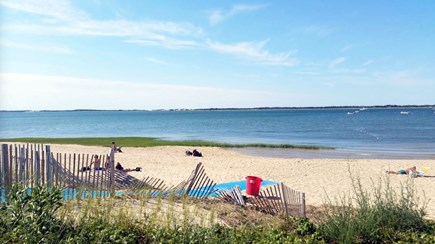 Barnstable Cape Cod vacation rental - Soft sand and gentle water of Millway Beach a short stroll away