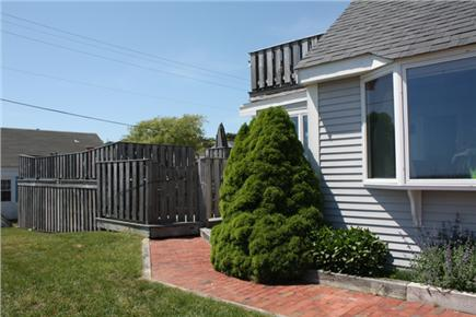 Wellfleet Cape Cod vacation rental - Decks are attached to left side of house