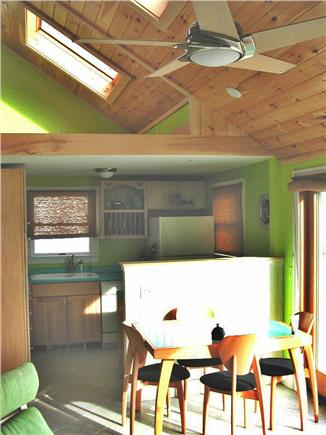 Truro Cape Cod vacation rental - Kitchen and eating area