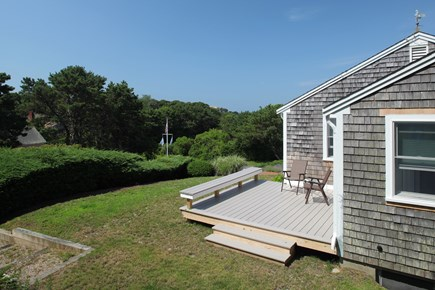 West Chatham Cape Cod vacation rental - Back Deck