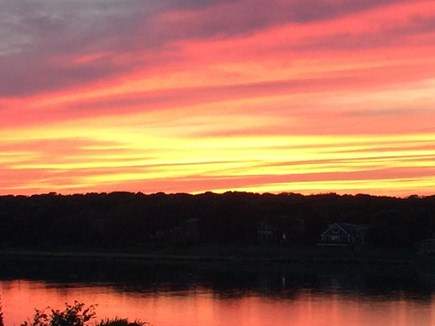 West Chatham Cape Cod vacation rental - Sunset over Buck's Creek