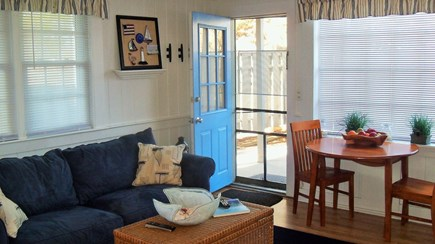 Yarmouth, Hyannis Cape Cod vacation rental - Living room w/ pull out sofa