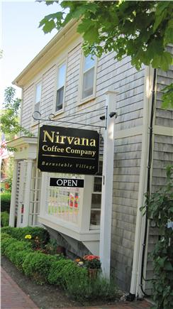 Barnstable Cape Cod vacation rental - Nirvana Coffee Breakfast & Lunch plus other eateries & shops