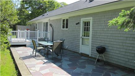Barnstable Cape Cod vacation rental - Siders lead to a deck, patio, outdoor shower, grilling & dining