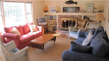 Barnstable Cape Cod vacation rental - Sunny Open Living room, relax, read or enjoy a movie