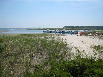 Chatham Cape Cod vacation rental - Little Beach with Marina boats