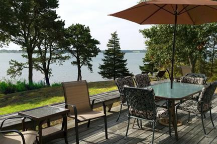 Orleans Cape Cod vacation rental - Beautiful view for dining and relaxing on the deck