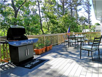 Brewster Cape Cod vacation rental - Fantastic deck with seating for ten