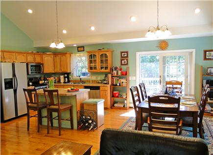 Brewster Cape Cod vacation rental - Modern kitchen with stainless appliances