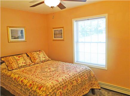 Brewster Cape Cod vacation rental - Queen bedroom with ceiling fan