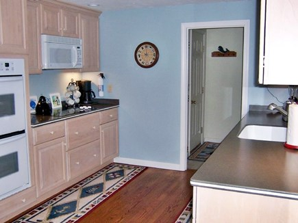 Brewster Cape Cod vacation rental - New modern kitchen - quality cookware, spices, baking supplies.
