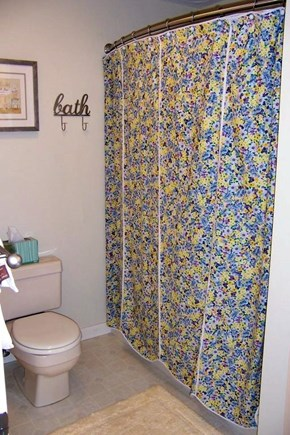 Brewster Cape Cod vacation rental - Spotlessly clean master bath with access from bedroom and hall.
