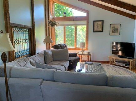 "East Orleans Cape Cod vacation rental - Spacious ""great room"" for gathering and ""chilling""!"
