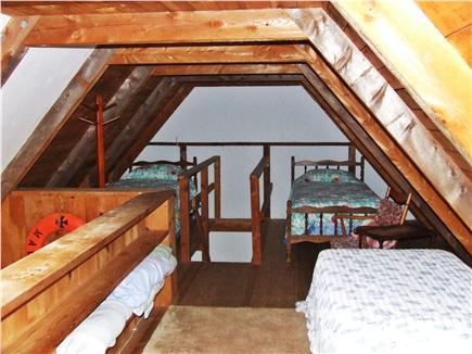 East Orleans Cape Cod vacation rental - The loft -- great place for children, with 4 single beds