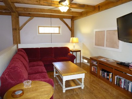 9 Pond Road, Orleans Cape Cod vacation rental - Upper Level lounge area, HD TV, and media center