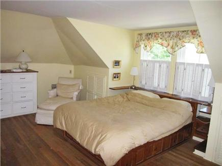 Woods Hole Woods Hole vacation rental - Upstairs master with queen is large and has lots of built ins.