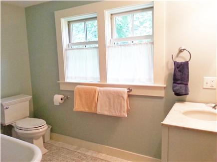 Woods Hole Woods Hole vacation rental - Marble bath with clawfoot tub (and shower) on 2nd floor.
