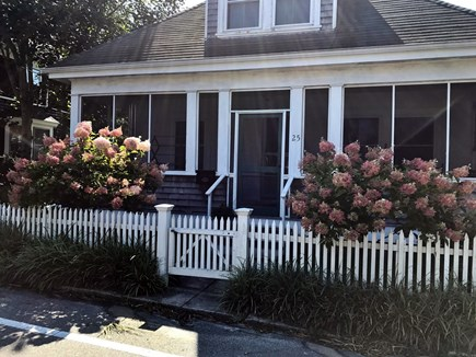 Woods Hole Woods Hole vacation rental - Our bungalow has a large screened porch in front, patio in back