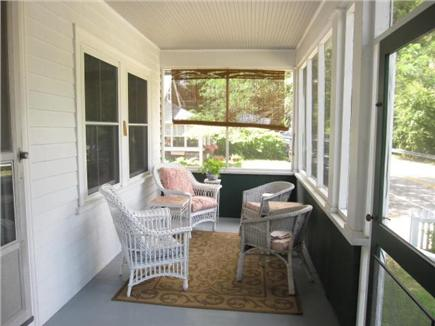 Woods Hole Woods Hole vacation rental - This is half of screened front porch, great for afternoon sun.