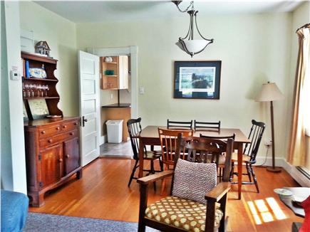 Woods Hole Woods Hole vacation rental - Dining room table seats up to 10 people with leaves inserted.