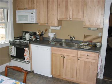 Woods Hole Woods Hole vacation rental - Kitchen is all new: cabinets, stove, 'fridge, dishwasher.