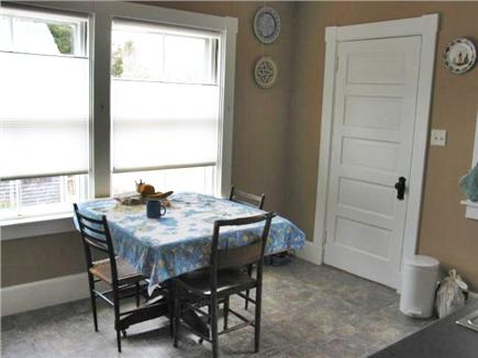 Woods Hole Woods Hole vacation rental - Six can easily eat in kitchen and windows give bright AM sun.