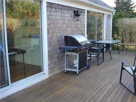 Barnstable, Cummaquid Cape Cod vacation rental - Patio with Gas Grill and Furniture