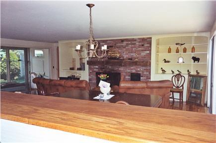 Barnstable, Cummaquid Cape Cod vacation rental - Fireplace