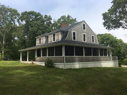 Plymouth, Manomet MA vacation rental - Wrap around porch house ID listing number 19144