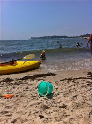 Falmouth Cape Cod vacation rental - Private, neighborhood beach with gentle waves just a 5-7 min walk