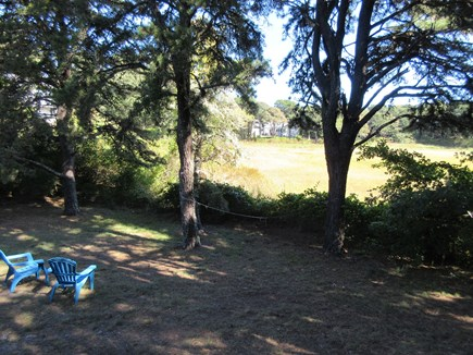 South Chatham Cape Cod vacation rental - Marsh View from Enclosed Porch and LR
