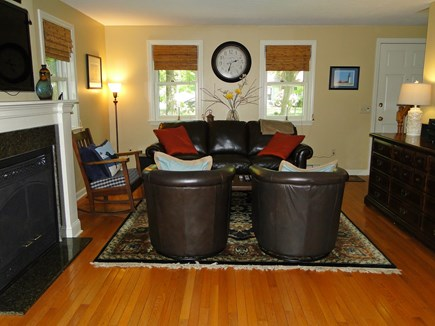 Centerville, Barnstable Centerville vacation rental - Living room with flat screen TV, two sitting areas