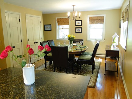 Centerville, Barnstable Centerville vacation rental - Dining area expands to seat 8