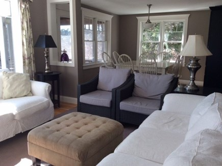 Orleans Cape Cod vacation rental - Open living room / dining room