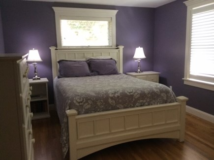 Orleans Cape Cod vacation rental - First floor master bedroom with private bath