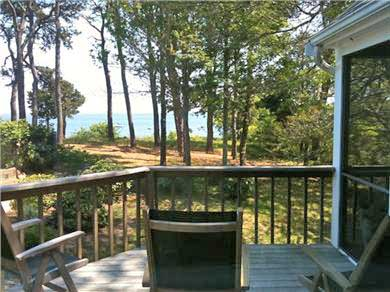 Orleans Cape Cod vacation rental - Deck View of Pleasant Bay