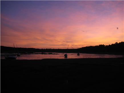 South Wellfleet Cape Cod vacation rental - Sunset on the Marsh